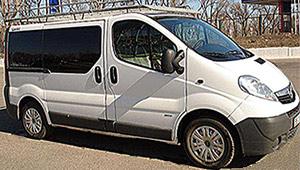 Междугороднее такси в Днепре - Opel Vivaro, 14 грн за 1 км