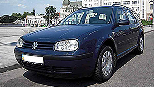 Междугороднее такси Харькова - WV Golf Variant