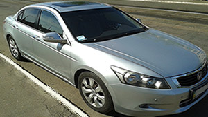 Междугороднее такси Киев - Honda Accord, 10 грн за 1 км
